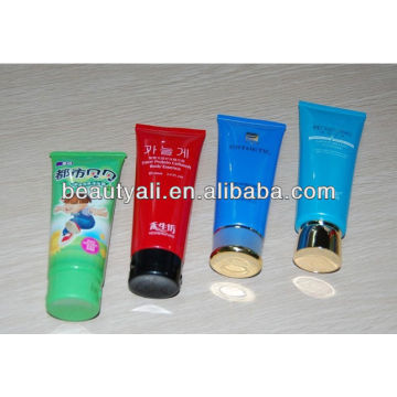 hotel plastic cosmetic tube for shampoo