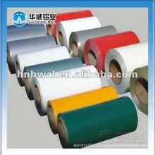Bobines d'aluminium chromées / pré-peintes