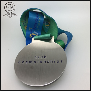 Gymnastics club ribbon medal sports