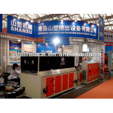 Línea de producción de extrusión de Perfil de PVC (ISO del CE)