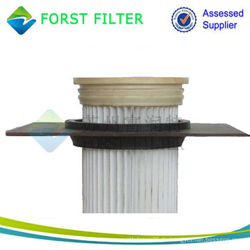 Top Loading Pleated Bag Filter, Staubbeutel Filter für Staubsauger, Zement Industrie Beutel Filter