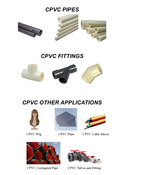 CPVC J-700 of Extrusion Grade