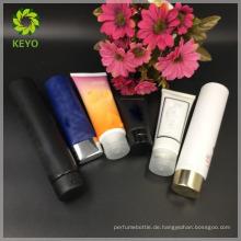 50 ml 75 ml luxus farbige kosmetische verpackung creme kosmetische rohr