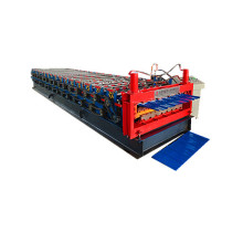 Panel Bumbung Panel Wall Roofing Double Roll Forming Machine