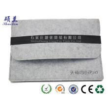 Heißer Verkauf kundengebundener Farbe Filz Ipad Tasche