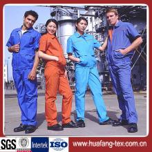 Polyester/Rayon Plain Workwear Fabric