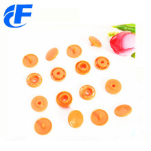 Colorful Plastic Prong Snap Button For Non-woven Bags