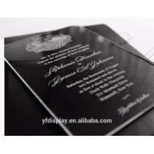 Acrylic Wedding Card For Wedding Ceremony