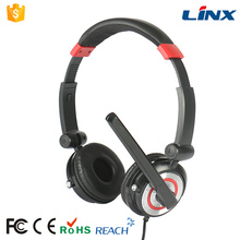Acessórios para computador fone de ouvido de jogos personalizado para laptop