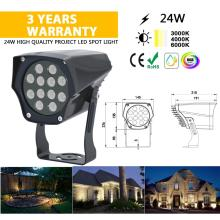 24V Outdoor Garden flood light LED city lamp