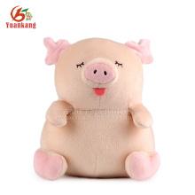 Atacado pelúcia pelúcia rosa porco brinquedo