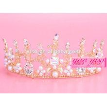 Schmuck Großhandel dekorative Könige und Königin Weihnachten Tiara