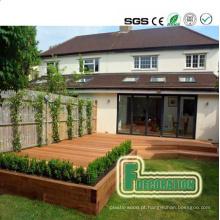 Decking composto de madeira de alta qualidade do PVC
