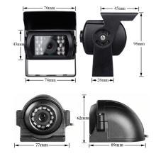 Cámara de coche 1080p de doble lente con DVR