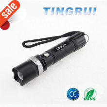 Best Strong Light Zoom rechargeable long strong light flashlight