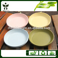 colorful promotional food tray 7inch dinner tray