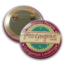 Impresión de la insignia, insignia de encargo de la lata del botón (GZHY-MKT-019)