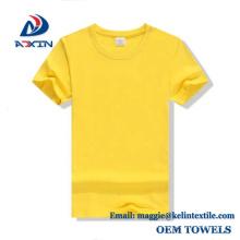 Custom Design 100% Cotton Logo Printing Plain White T shirts for Men/Wemen