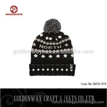 2016 Hot Sell Colorful Hip Hop Beanies Knitted Beanie / Custom Beanie Hats / hiver tricoté chapeau