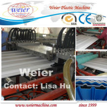 CE approved pvc roofing sheet machine