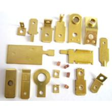 Pièce emboutie en laiton d'OEM / ODM en métal