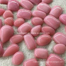 Ópalo rosa piedras preciosas para joyería ajuste