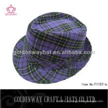 Sombrero formal clásico Sombrero unisex del sombrero fedora