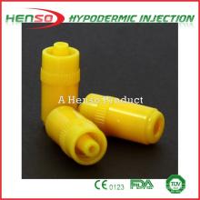 Henso Medical Yellow Heparin Cap