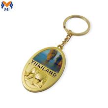 Individuelle Logo-Schlüsselanhänger aus Metall