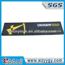 Estera de la barra de Pvc de oro de Strongbow distintivo para Promo