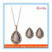 New Arrival Jewelry style vintage en Chine collier et boucle d'oreille de yiwi
