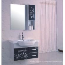 80см шкаф ванной комнаты PVC (Б-522)