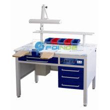 banco de trabalho dental (equipamento de laboratório dentário) (fornecimento odontológico) - Aprovado CE -