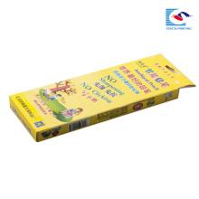 boîte intelligente d'emballage de crayon d'enfants avec la fenêtre claire
