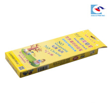 kids intelligent pencil packaging box with clear window