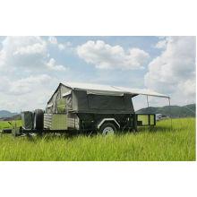 Faltender Wohnwagenanhänger DW-CT001 mit Zelten rv zum Verkauf comping Anhänger