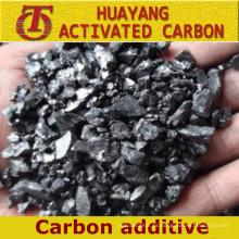 Precio bajo de fábrica de recarburizador, aditivo de carbono
