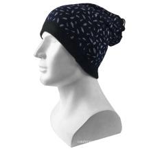 Hot wholesale Fashion Black Printing Multifunctional Magic Customize design logo Hat Tube thermal Neck Warmer