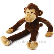 ICTI Fabrik benutzerdefinierte lange Arme und Beine Affe Plüschtier