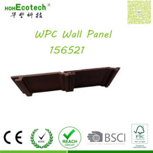 Outdoor Decoration Durable Anti-Peeling Elegant WPC Panels Low Price Wall Siding