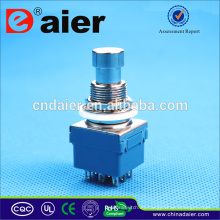 Interruptor de pie Daier 3pdt / pedal eléctrico interruptor / pedal interruptor de pie