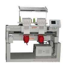2 Head 9 Colors Cap Embroidery Machine