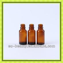 15ml amber glass dropper bottle
