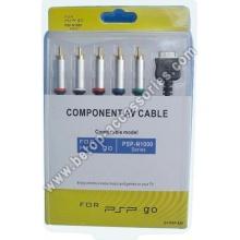1,8 m de longitud PSP ir cable AV por componentes (plata)