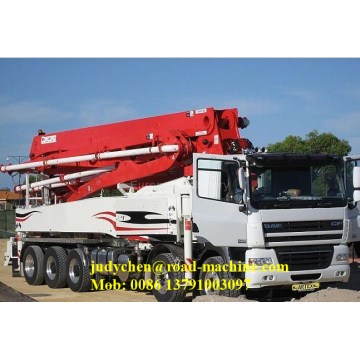 52M SANY Truck mounted concrete boom pump truck