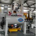 Horizontal type  PVC high speed mixer