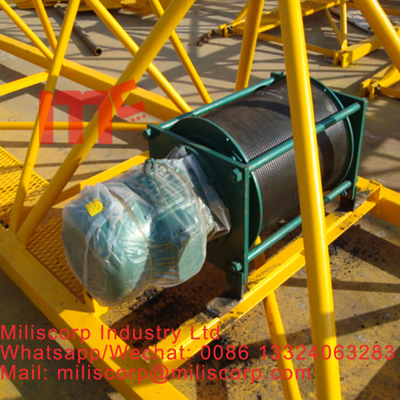 tower crane trolley reducer