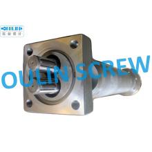 Barril y doble husillo de 125 mm para extrusora de PVC