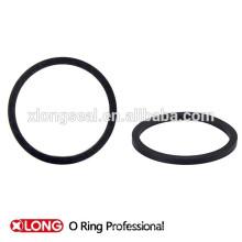 Nuevo diseño de los tipos de anillo de goma negro redondo
