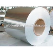 Bobine en aluminium pour matériau de corps de lampe